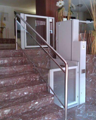 Maquina para subir escaleras