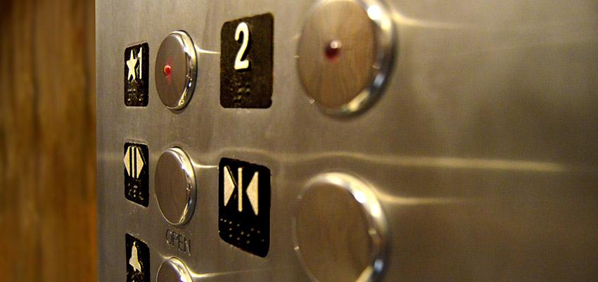 Elementos de seguridad en el ascensor